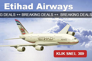 Etihad Airways Breaking Deals naar Azie, Australie, Afrika en Middle East