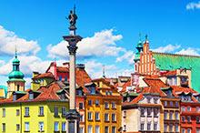 Ryanair vluchten naar Warschau