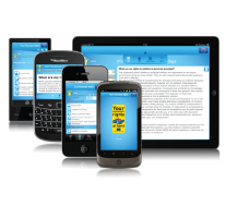 Mobiele app iPhone, Windows, Android, EC