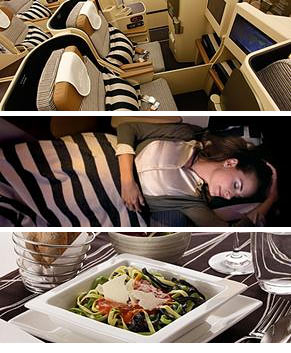 Etihad Airways Pearl Business Class - De best deals