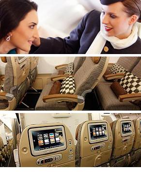 Etihad Airways Coral Economy Class - De beste deals