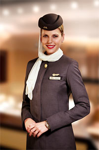 Stewardess Etihad