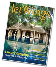 JetWings, inflight magazine van Jet Airways