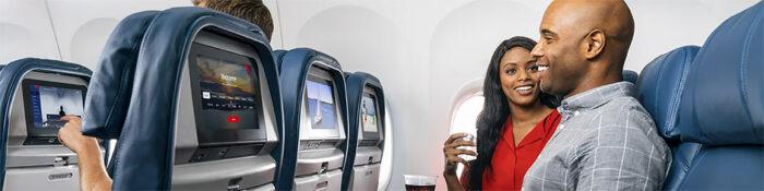 Delta Air Lines Main economy class