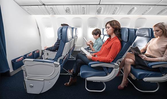 Delta Air Lines Economy Comfort