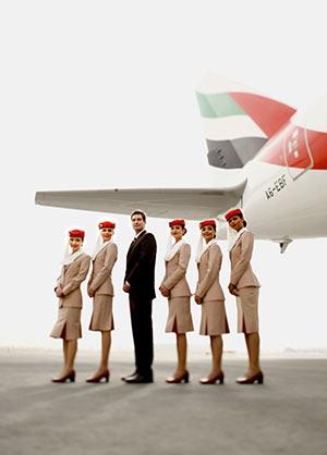 Goedkope vliegtickets van Emirates boek je op Goedkopevliegtuigtickets.be
