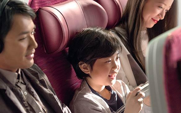 Reis met uw gezin met Qatar Airways