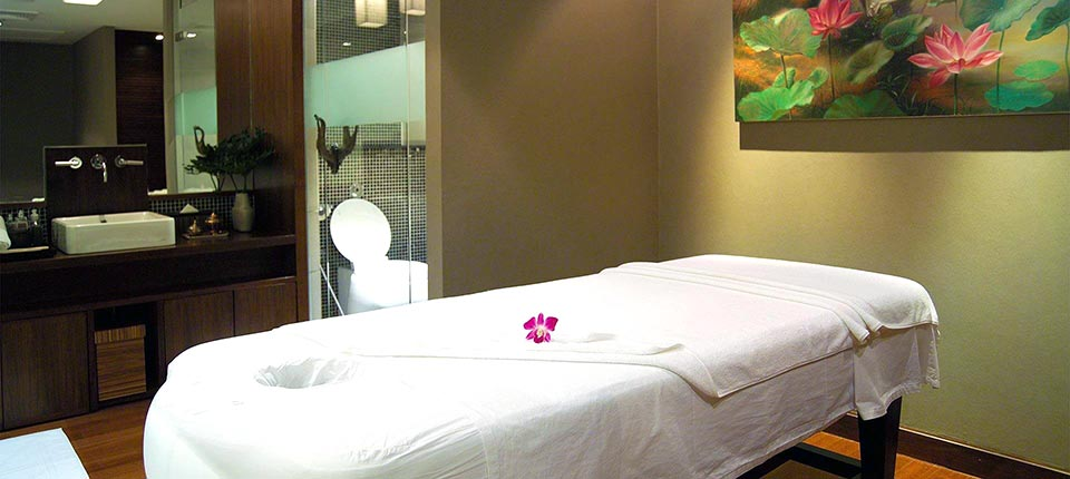 Spa in de Royal Orchid Lounge op Bangkok