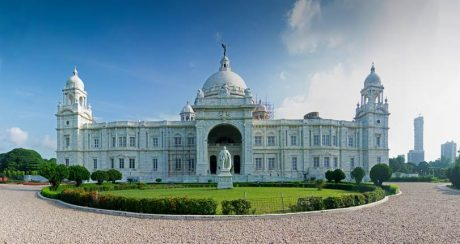 Victoria Memorial, Calcutta in India