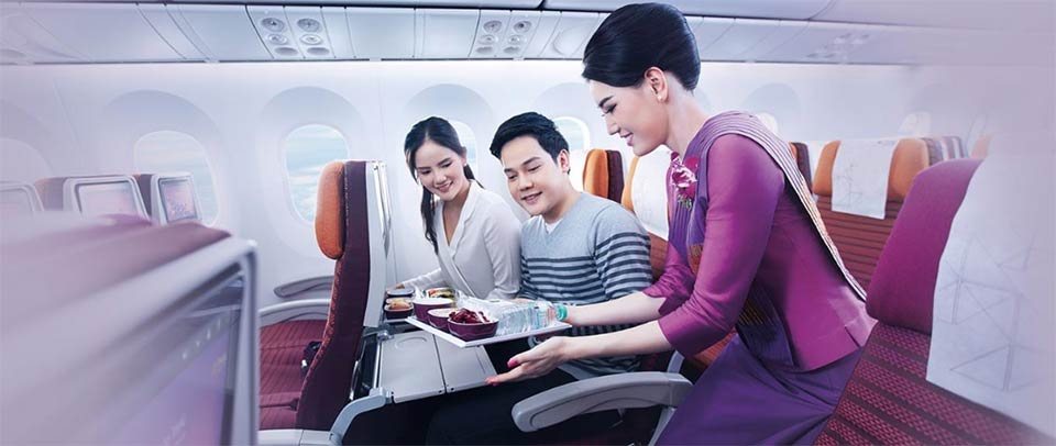 Thai Airways International service